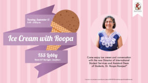 Ice Cream with Roopa, ISS Director